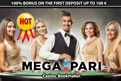 Megapari Casino - 100%/€100 - Full Review by Casino Mamma