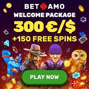 Best Online Casino with bonuses and free spins!